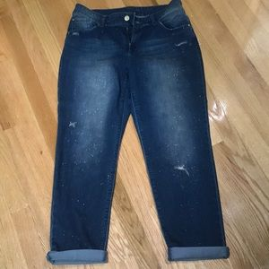 Chico's bling jeans with sparkles 1.5 size so cute